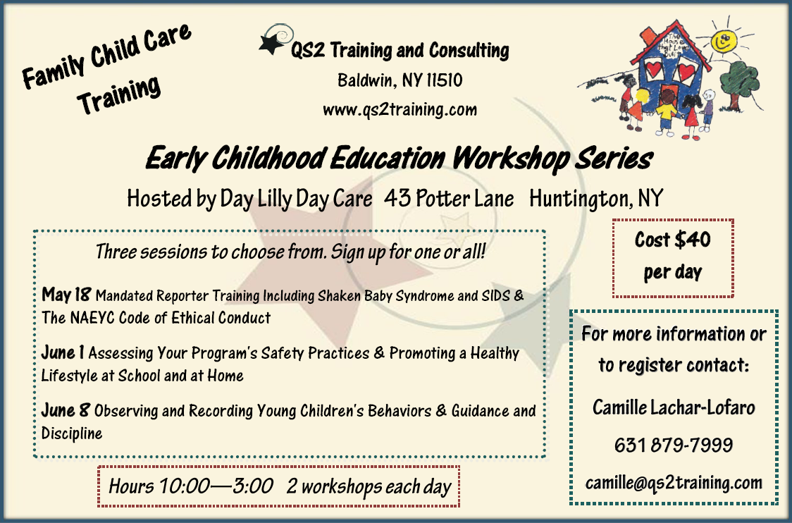Family Child Care Training